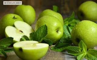 Чем полезно зеленое яблоко