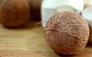 Как почистить кокос в домашних условиях ножом