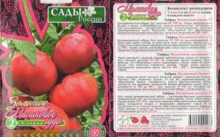 Помидоры малиновое чудо сады россии отзывы