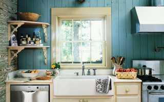 Интерьер кухни дачного дома