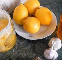 Мед лимон чеснок для чего полезно