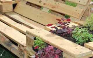 Изготовление садовой мебели из дерева
