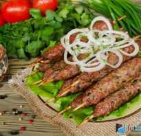 Кебаб рецепт на мангале