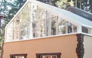 Инженерные коммуникации зимнего сада оранжереи на крыше