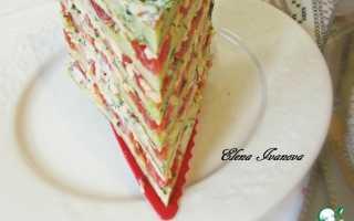 Кабачковый торт рецепт с сыром
