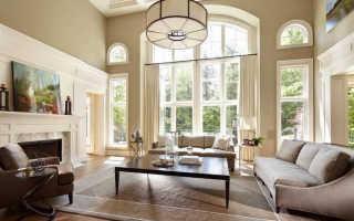 Дизайн окон частного дома
