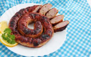 Рецепты домашних колбасок для жарки