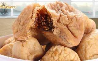 Сухой инжир полезные свойства