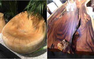 Деревянная мебель в интерьере для поклонников экологичных материалов фото
