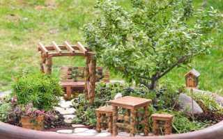Украшение для сада своими руками из подручных материалов фото