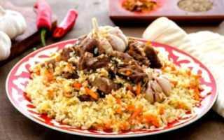 Рецепт плова по узбекски