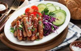 Рецепт домашних колбасок для жарки