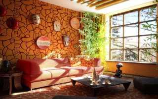 Африканский стиль в интерьере квартиры фото