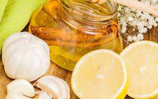 Лимон чеснок мед рецепт