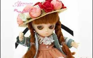 Цветочные образы кукол ai