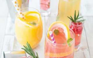 Рецепты холодных напитков