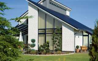 Виды конструкции односкатной крыши