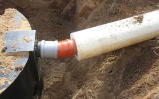 Утепление канализации в частном доме теплоизоляция труб в земле