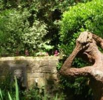 Садовая скульптура оригинальное украшение сада