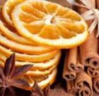 Сушеные дольки апельсина для декора