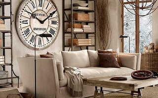 Варианты интерьерных часов в магазине имперчас