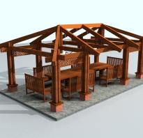 Виды стропильных систем для вальмовой крыши